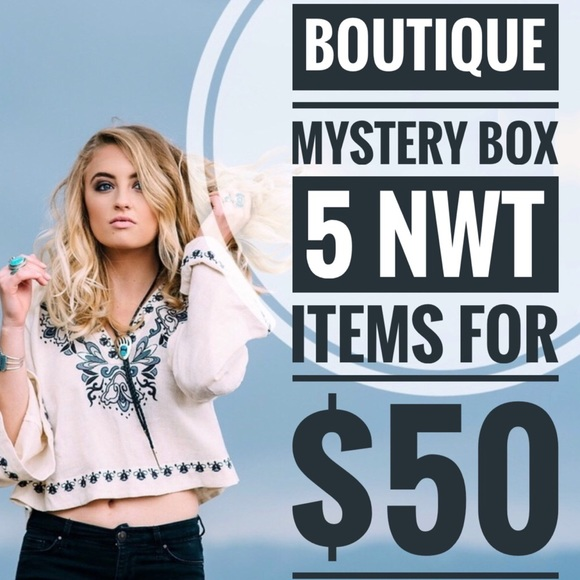 Tops - Boutique Wholesale Mystery Bundle Mystery Box